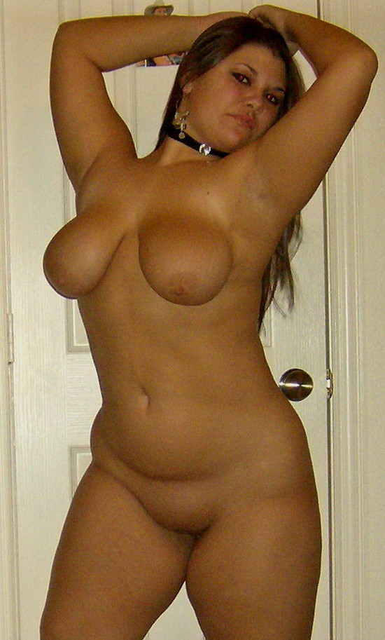 Cute Chubby Coed Totally Naked